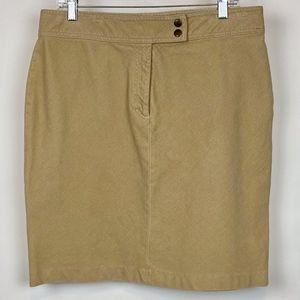 DKNY Corduroy straight skirt size 14